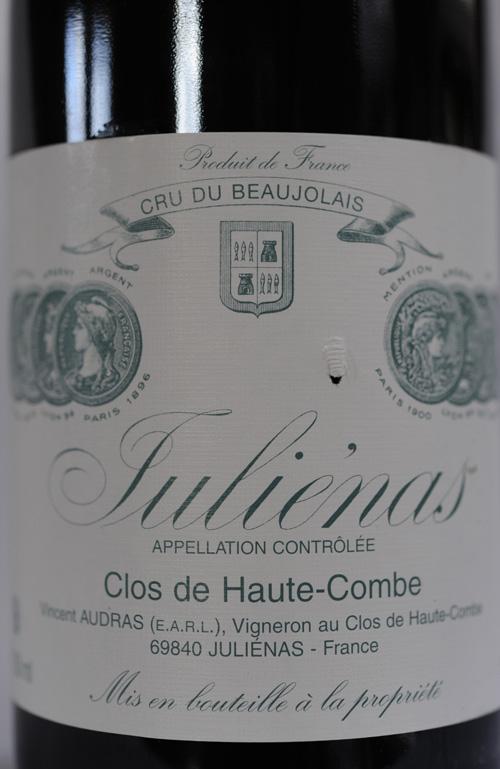 Domaine Vincent Audras à Juliénas,